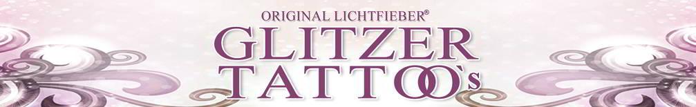 Die schönsten Glittertattoos gibts bei Lichtfieber! Komplettsets und Glitzertattoo-Motive / Schablonen für echte Glitzertattoo-Freunde